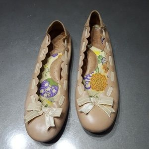BORN ballerina leather flats